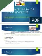 portaria 344