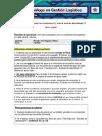 Formato Para Presentar Las Evidencias 5 y 8 de La Guía de Aprendizaje 15