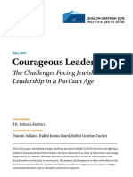 Courageous Leadership White Paper