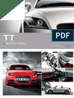 Audi Tt Brochure