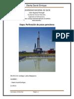 trabajo de geología ambiental destinado a la industria hidrocarburifera