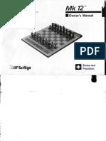Kasparov Mk12 Owners Manual