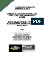 Guia libres Psicobiologia Experimental UNC