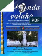 Revista Rotonda Valahă Nr. 3 (14) iulie -august- septembrie 2019