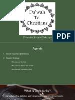 Christianity Dawah Training Presentation 2017