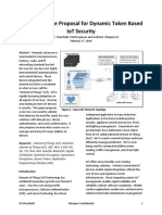 A Security Architecture Proposal for Token Based Industrial IOT Security 02-16-2016