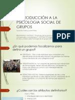 Introduccion p Social de Grupos
