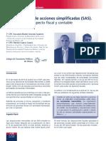 Sociedades de Acciones Simplificadas 2016 Practica Fiscal Julio