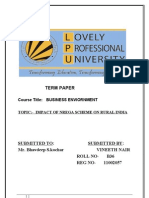 Term Paper of BE