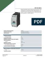 Hoja de Datos Advance Del Guarda RV10314BA10_datasheet_es