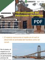 Turistificación Patrimonio Correntino Ituz 17-09-19