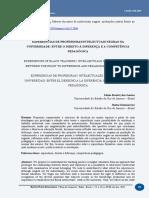 EXPERIÊNCIAS DE PROFESSORAS/INTELECTUAIS NEGRAS NA UNIVERSIDADE