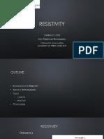 Resistivity Logging Tool