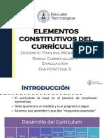 Clase 3 Curriculum Elementos