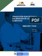 Traduccion Guia Dkd r 5 7 Calibracion de Camaras Climaticas 2019