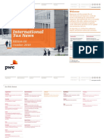 Pwc International Tax News October 2018