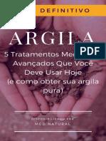 5 Tecnicas Medicinais Avancadas Argila