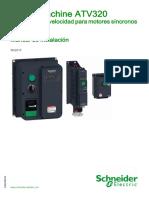 ATV320 Installation Manual SP NVE41292 04