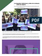10 Años de Femicidio en La Argentina_ Definiciones y Cifras de La Violencia Contra Las Mujeres - Infobae