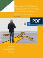 Guía Para La Identificación y Declaración Del Conflicto de Intereses en El Sector Público Colombiano - Versión 2 - Julio 2019
