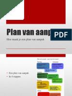 powerpoint plan van aanpak