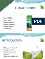 Coco Fresh Health Drink