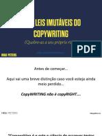 10 Leis Imutáveis Do Copywriting