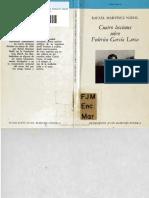 Cuatro Lecciones Sobre Federico Garcia Lorca