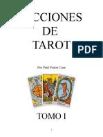 Lecciones de Tarot (Libro Original Para La Maestra)