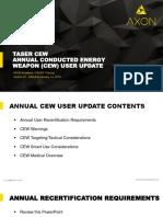 Annual CEW User Update 2019 V21