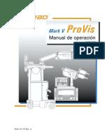 Inyector de Medio de Contraste Mark v Provis_manual de Usuario