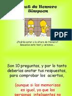Test de Homero