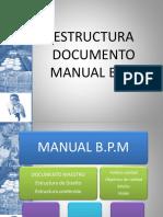 Estructura Documento Manual Bpm