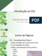 03 Introducao CSS