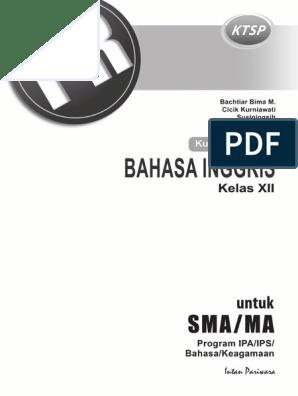Kunci Jawaban PR Inggris 12 2015 KTSP pdf