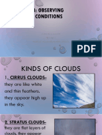 Wlesson 63-Kinds of Clouds-WORKBOOK