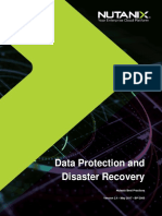 Nutanix BPG Data Protection Disaster Recovery