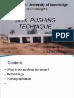 box pushing