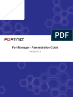 Fortimanager 6.2.1 Administrator Guide