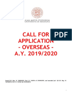 Overseas AY 19 20 Call for Applications Final Rev101018