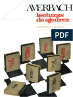 Lecturas de Ajedrez - Yuri Averbach - OCR e Índice