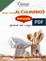 Receituario Especial Culinários - Maggi