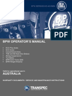 BPW Operators Manual Aug2015