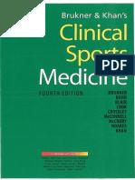 Clinical Sports Medicine (4th Edition) - Brukner, Khan
