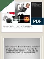 Personalidad Criminal