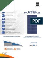 Kirloskar Solar Panels