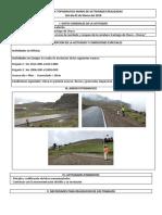 Informe Topografico Diario 020319