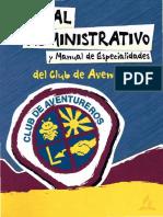 Manual Administrativo y de Especialidades del Club de Aventureros.pdf