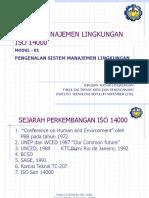 Modul 1 SML (Sistem Manajemen Lingkungan)