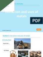 Extraction of Metals Overview
